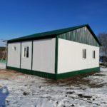 Модульное здание для ГБУЗ Чекмагушевская ЦРБ Республики Башкортостан